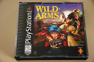Wild Arms (Sony PlayStation 1, 1997) case only - no game or manual