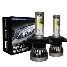 2x H4 180W 30000LM COB LED Headlight Bulbs Conversion Kit 6000K Hi/Lo beam Lamps