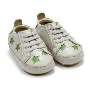 Baby Girl Shoes Old Soles Starey Bambini Crib Slip On Leather Sneakers New
