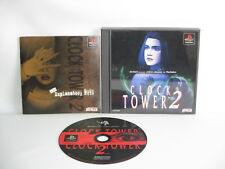 Horloge Tower 2 Second 2nd Réf / Ccc PS1 Playstation Japon Video Game p1
