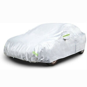 Car Cover Waterproof Rainproof Snowproof All Weather Protection for Small Sedan
