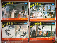 Set of 8 Killer's Game Kung Fu Hong Kong Lobby Card 70s
