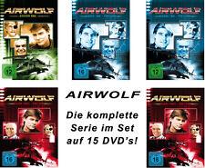 15 DVDs  * AIRWOLF - DIE KOMPLETTE SERIE -  IM SET # NEU OVP +
