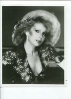 Abbe Lane Jazz Singer Actress Signed Autograph Photo