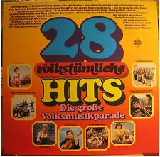 The great People Music Parade, 28 FOLK HITS, Sampler, LP (1716)