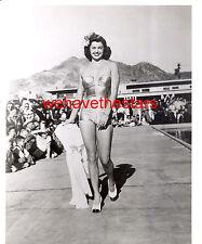 Vintage Esther Williams SEXY AT BATHING SUIT FASHION SHOW '48 Publicity Portrait
