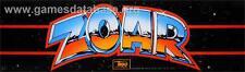 """""""Zoar"""" Original Arcade Marquee Plexiglas Nice Marquee!"""