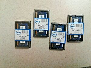 4GB SET - DELL 1GB X 4 PC2-6400S DDR2 LAPTOP MEMORY RAM- 4 PIECES @ 1GB EACH NEW