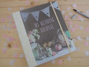 NEW BEAUTIFUL  MY WEDDING JOURNAL  DIARY ORGANISER KEEPSAKE BOOK RYLAND PETERS