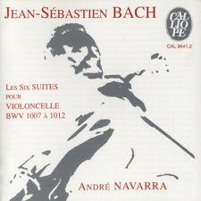 Jean-Sébastien Bach - André Navarra - Les Six Suites Pour Violoncelle