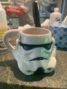 Lucas Films Star Wars Stormtrooper  helmet mug