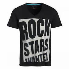 Rockstars & Angels Black T shirt rock stars wanted  size Large $49 new