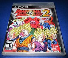 Dragon Ball: Raging Blast 2 Sony PlayStation 3 *Factory Sealed! *Free Shipping!