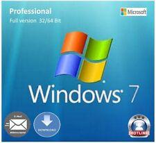 Microsoft MS Windows 7 Professional Schlüssel 1PC 32/62-Bit Original Key Online