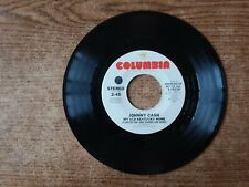 1975 PROMO VG++Johnny Cash  ‎– My Old Kentucky Home TURPENTINE&DANDELION WINE 45