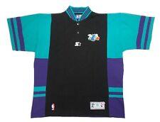 Vintage Charlotte Hornets Starter Warm Up Shooting Jersey Size XL NBA Basket