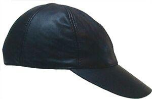 MISTER B LEATHER BASEBALL CAP BDSM LEATHER MAN FETISH CAP FROM MR B