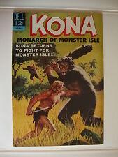 Kona #10 VG+ Returns To Fight For Monster Isle
