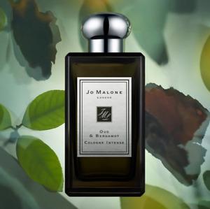 Jo Malone London Oud & Bergamot Cologne Intense Spray 3.4 Oz /100 ml Sale