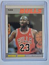 1987-88 Michael Jordan Fleer