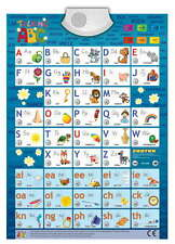 Audio-Plakat Sprechendes ABC Englisch Lernspielplakat Game Poster interaktiv DiY