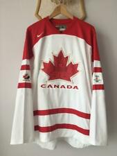 VANCOUVER OLYMPICS 2010 CANADA TEAM ICE HOCKEY JERSEY TRIKOT NIKE ADULT LARGE