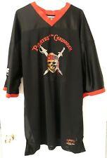 Pirates of the Caribbean #03 Hockey Jersey Adult XL Captain Jack  Disney World