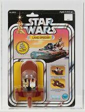 Star Wars 1978 Vintage Kenner 12 Back Diecast Land Speeder MOC AFA 85