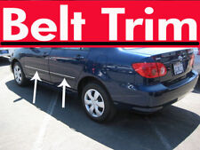 Toyota COROLLA Altis CHROME SIDE BELT TRIM DOOR MOLDING 03-05 06 07 08 09-13