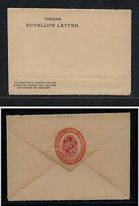 Tonga domestic   postal envelope  unused           PS1102
