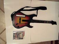 Guitar Hero 5 And Guitar Hero Controller Nintendo  Wii Redoctane Wireless...
