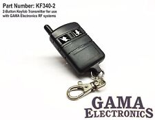 2 Button Keyfob R.F. Transmitter for GAMA Electronics Remote Control Systems