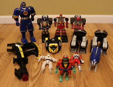 Miscellaneous 90?s Power Rangers Action Figures Megazord White Ranger + TMNT