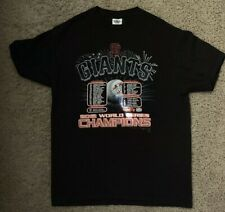 San Francisco Giants 2012 World Series Champions Roster T-Shirt Size M