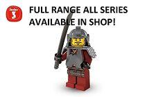 Lego minifigures samurai warrior series 3 (8803) unopened new factory sealed