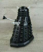 "Doctor Who 12"" Large Remote Control Black Moving Talking Dalek Sec 2004 BBC"