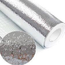 1Pc Self-adhesive Mosaic Foil Wall Paper Sticker Tiles Kitchen Decor 40x200cm