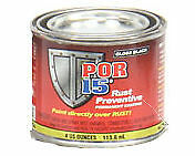 POR-15 45006 ONE 4oz CAn Gloss Black Rust Preventative Paint - Paint Over Rust
