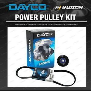 Dayco Drive Belt And Pulley Kit for Toyota Tarago ACR30R 2.4L 2000-2006