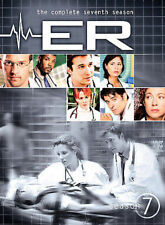 """ER: THE COMPLETE SEVENTH SEASON"" FACTORY SEALED BRAND NEW 6DVD SET 2001, 2007"