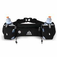Running Belt Jogging Cycling Waist Pack Pouch Sports Water Bottle Holder Bag Gym