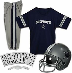 NFL Kids Dallas Cowboy Football Helmet and Jersey Set NFL Youth Football Small