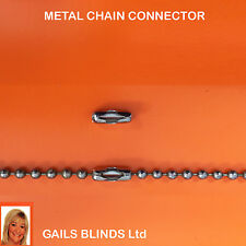 4 VERTICAL BLIND SPARE PARTS  METAL CHAIN JOINERS - CONNECTORS