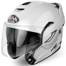 Casco Helmet Flip Up Airoh Rev P/j White Gloss mentoniera ribaltabile S 55 56