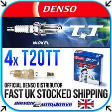 4x DENSO T20TT NICKEL TT SPARK PLUG FOR PEUGEOT 309 1.9 10.85-07.89
