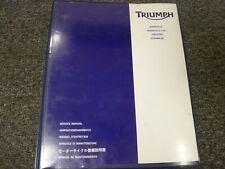 2002-2004 Triumph Bonneville T100 Motorcycle Shop Service Repair Manual 2003