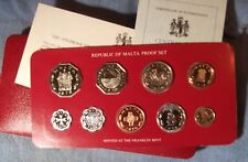 1976 Malta Proof Set, Original Packaging