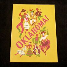Program Oklahoma! Theatre Guild National Company NY Mamoulian De Mille 1944