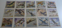 1940's  F213-5 Coca-Cola America's Fighting Planes complete set of 20 with env.