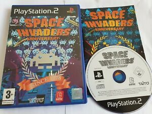 Space Invaders Anniversary Sony PlayStation 2 PS2 Game FREE UK POSTAGE